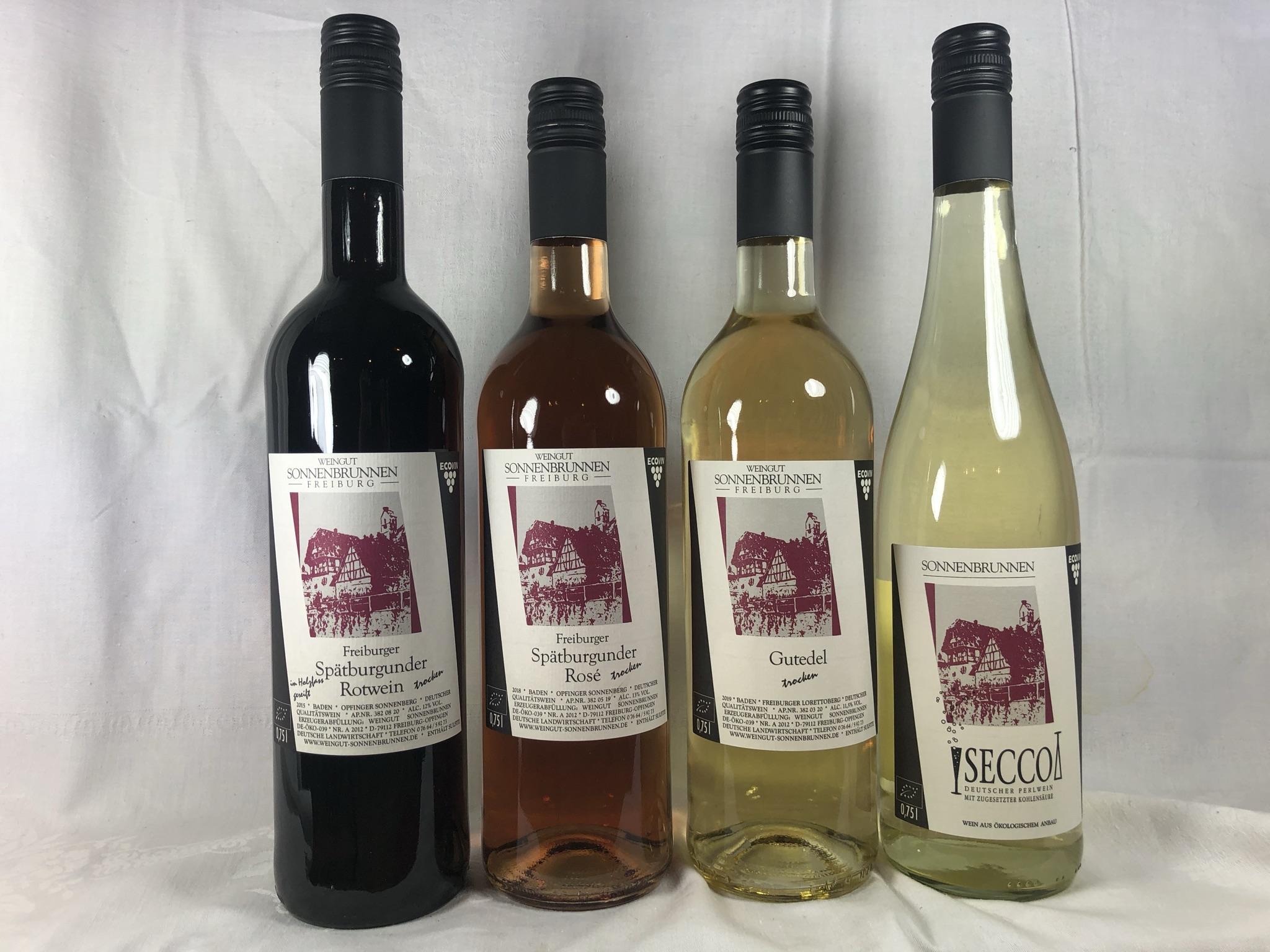 Weinprobe Klassik mit 4 Weinen