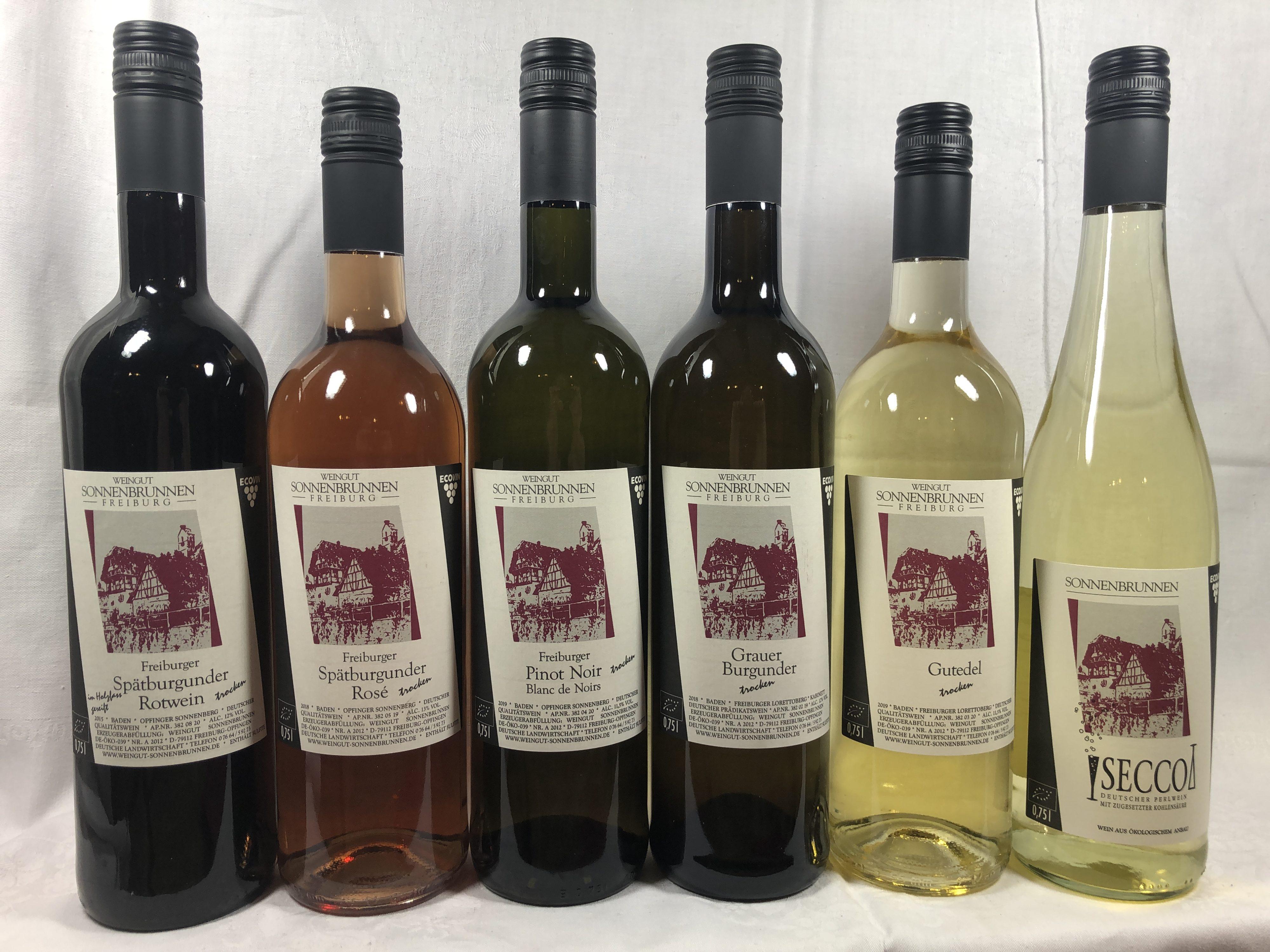 Weinprobe Klassik 6 Weine
